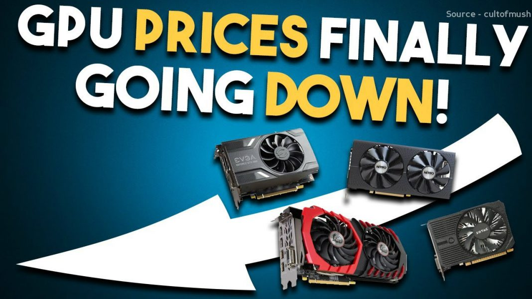 gpu price going down