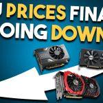 gpu price going down
