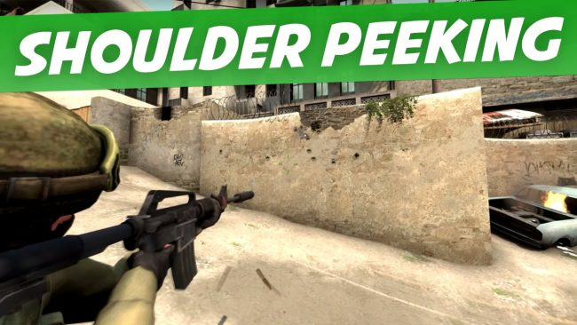 Shoulder Peek CSGO